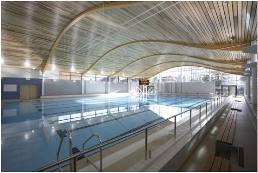 Civil engineering design for abingdon school 39 s sports complex for Mark morris high school swimming pool