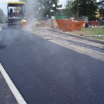 SMA surfacing for London Bus Terminal