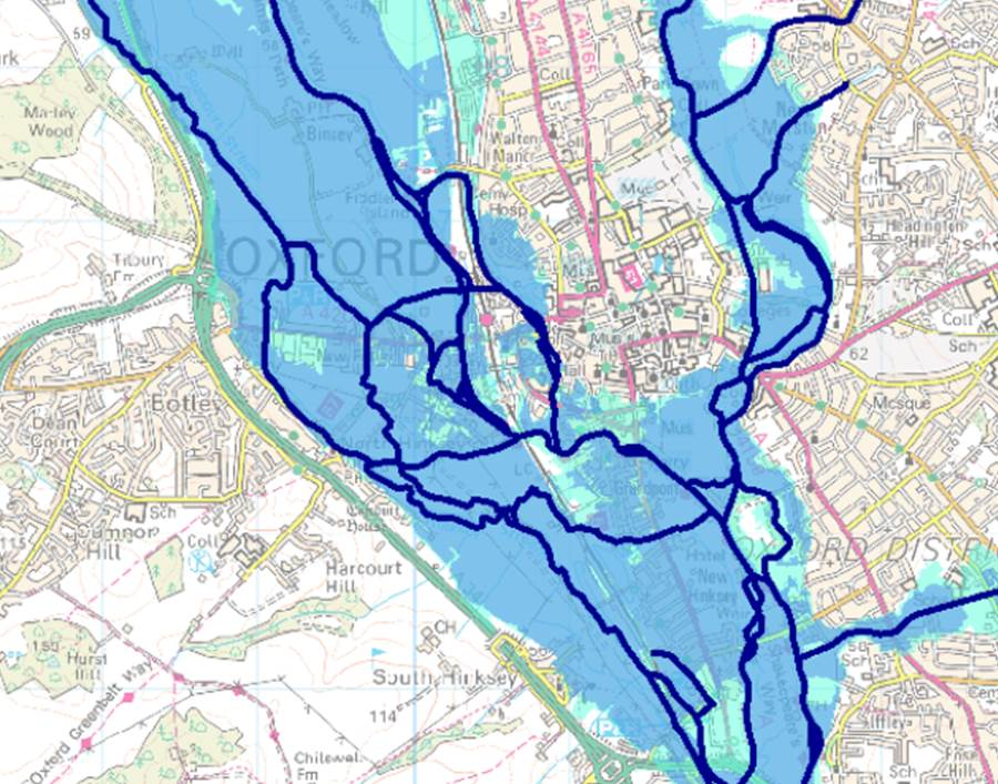 Flood Risk Assessments in Oxford