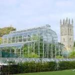 rainwater harvesting at Oxford Botanic Gardens