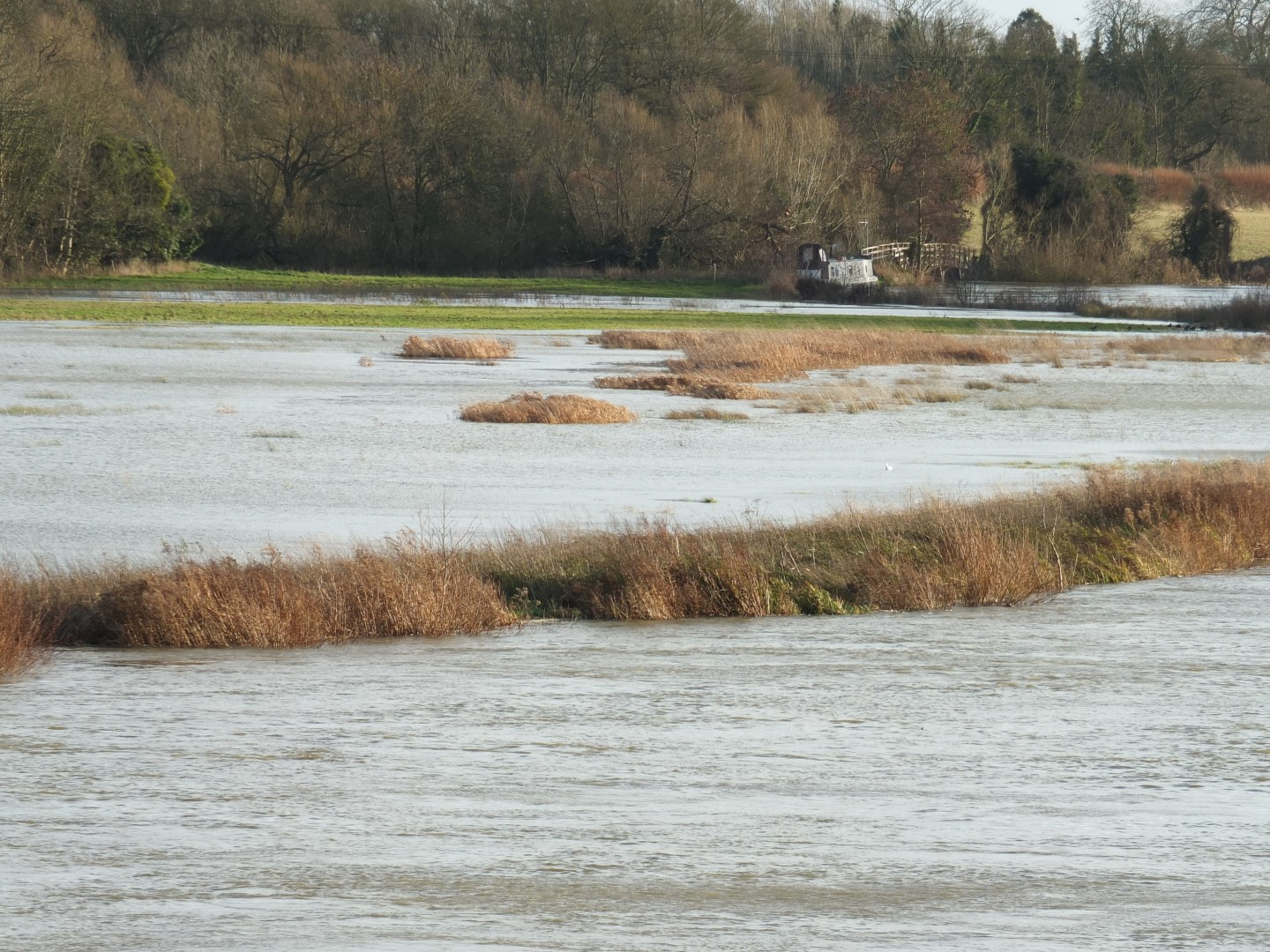 Floodplains and flood defences