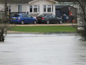 Caravan flooding