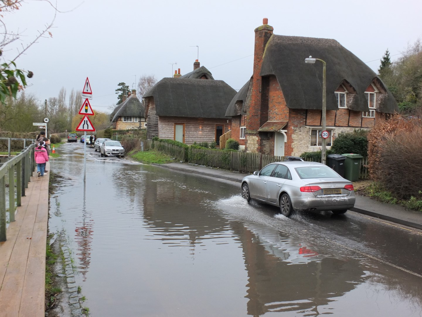 Flood grants for householders and small businesses