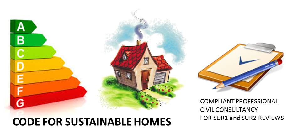 Sur1 and Sur2 Code for sustainable homes